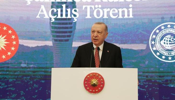 """""""Haziran ayının sonunda Kanal İstanbul'u şehrimize kazandırmak üzere temeli atıyoruz"""""""