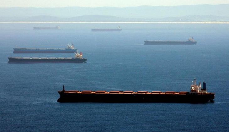 İki ülke arasındaki ticari gerilim nedeniyle 48 gemi mahsur kaldı