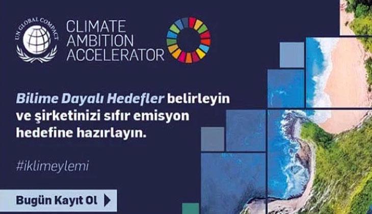 'İKLİM HEDEFİ HIZLANDIRMA PROGRAMI' TÜRKİYE'DE BAŞLADI