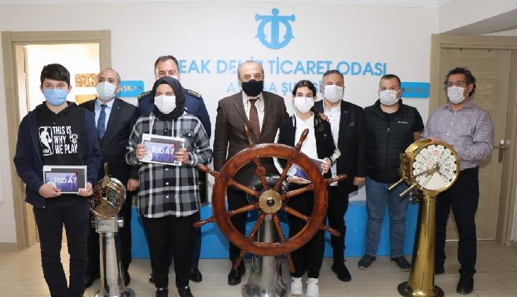 İMEAK Deniz Ticaret Odası Aliağa Şubesi'nden eğitime destek