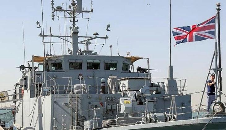"""İngiltere Savunma Bakanlığı: """"Gemimize yönelik uyarı ateşi açılmadı"""""""