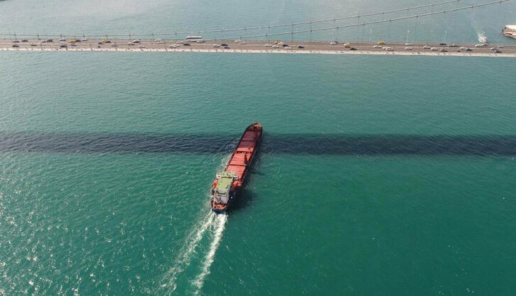 İstanbul Boğazı, tekrar gemi trafiğine açıldı