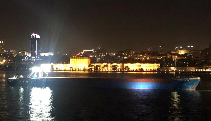 İstanbul Valiliğinden boğazda arızalanan gemiyle ilgili açıklama