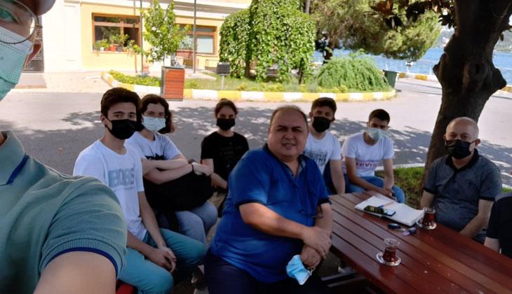 İTÜ ENERJİ ENSTİTÜSÜ ÖĞRETİM ÜYESİ DR. BURAK BARUTÇU, İTÜ MTAL'Yİ ZİYARET ETTİ