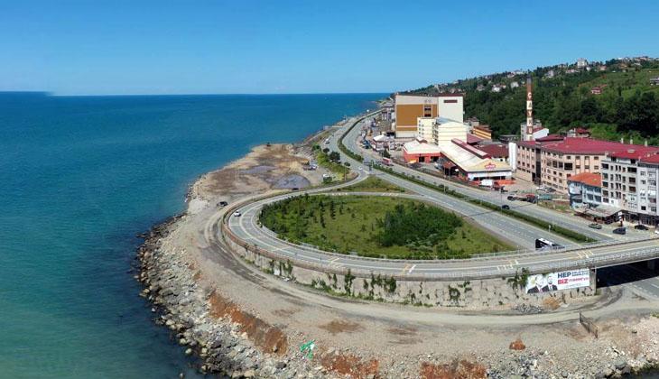 İyidere Lojistik Limanı için deniz dolgusu başladı