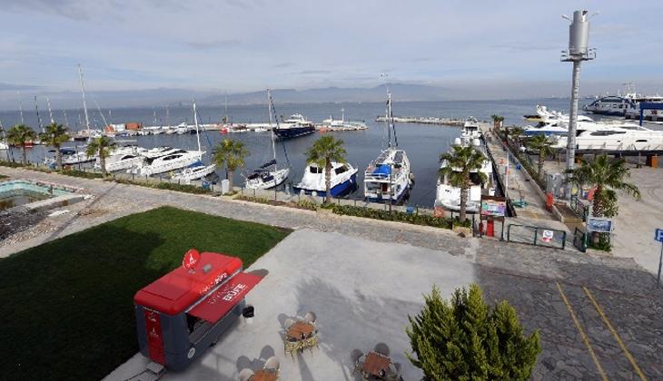 İzmir Marina, yenilenmesinin ardından tekrar teknelere ev sahipliği yapmaya başladı