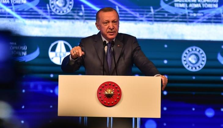 """Kanal İstanbul Projesinin temeli atıldı... Erdoğan: """"İstanbul'un geleceğini kurtarma projesi olarak bakıyoruz"""""""