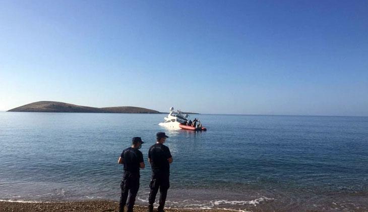 Karaya oturan lüks yattaki 6 kişi kurtarıldı