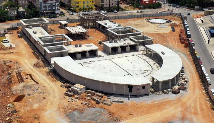 Kepez Balık Pazarı inşasında sona yaklaşıldı