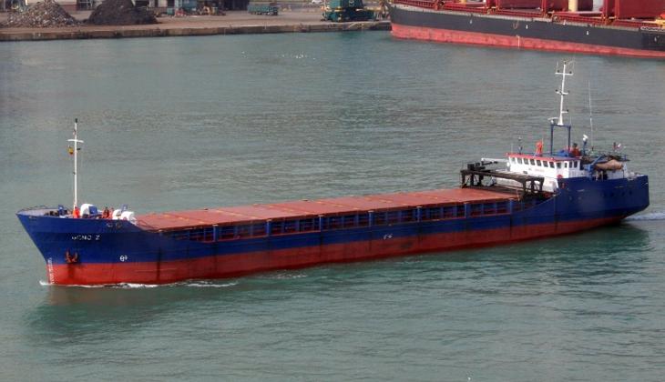 Kerç Boğazı'nda 5 Türk gemicinin zehirlenip 1 gemicinin hayatını kaybettiği April gemisi kıyıya çekilecek