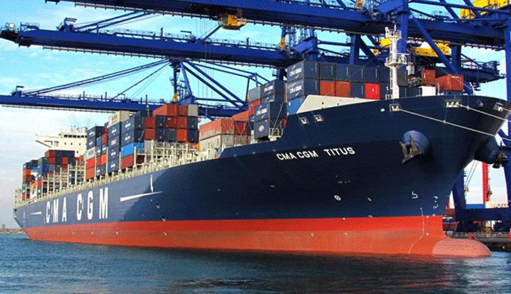 Konteyner gemisi Süveyş Kanalı'nda karaya oturdu