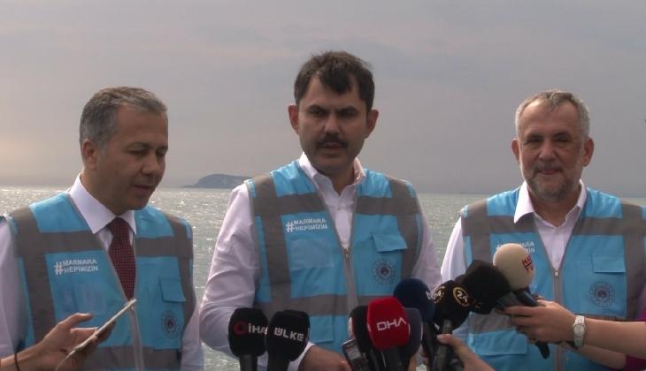 """""""Marmara 10 gün öncesine göre daha temiz"""""""