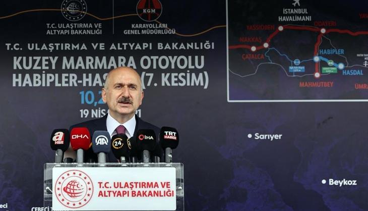 Marmara Bölgesi'nin en stratejik ve katma değerli projesi Kanal İstanbul
