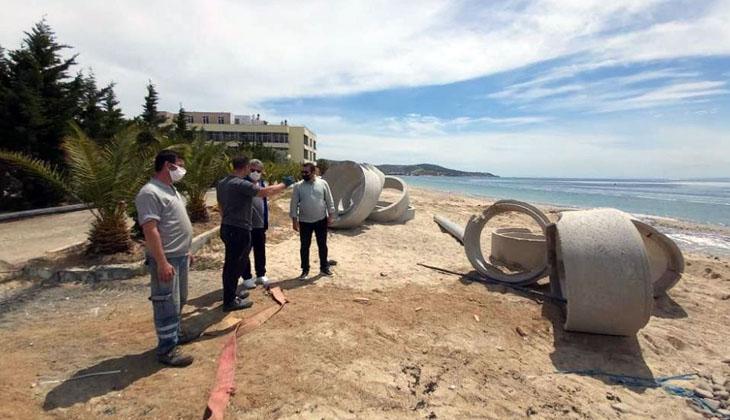 Marmara Denizi'nde etkili olan müsilaj felaketi Avşa Adası'nı da etkisi altına aldı
