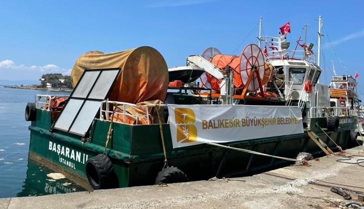 Marmara Denizi'ndeki müsilaj bu gemi ile toplanacak