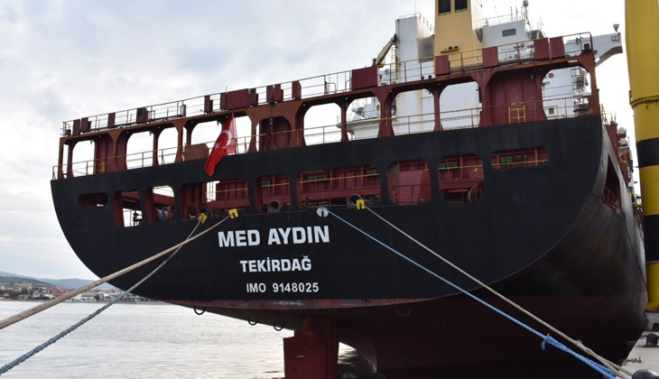 MED AYDIN, Türkiye'nin en büyük konteyner gemisi oldu