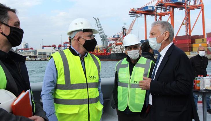 Mersin DTO, Mersin Limanı'nın genişleme projesinde Atatürk Parkının önünün kapatılmasını istemiyor