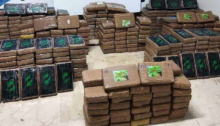 Mersin Limanı'nda 463 kilo uyuşturucu ele geçirildi