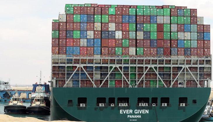 Mısır ile Süveyş Kanalı'nı kapatan Ever Given ile tazminat konusunda anlaştı