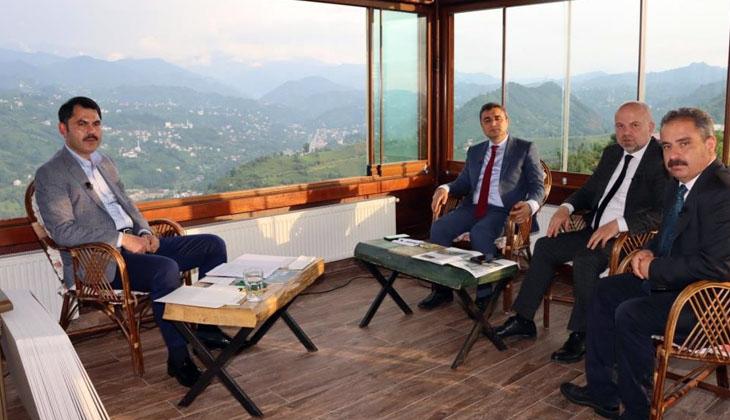 """Murat Kurum: """"Müsilajın çıktığı, sahada şu ana kadar Marmara'da 10 bin 243 denetim yapıldı"""""""