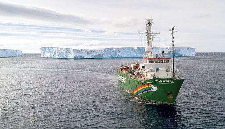 MV ARCTİC SUNRİSE, MARMARA İÇİN GELDİ