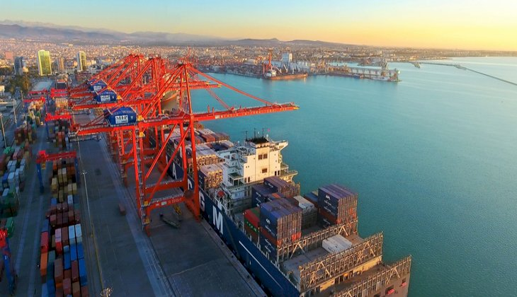 Mersin Uluslararası Limanı, Türkiye'de 2 milyon TEU barajını geçen ilk liman oldu