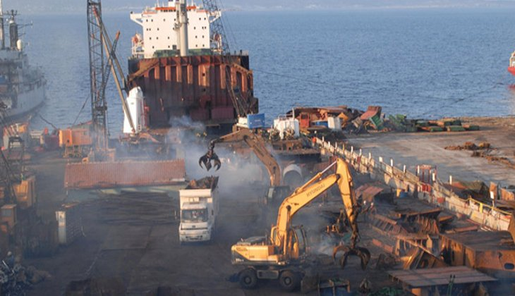 800 bin tonu aşkın geminin Aliağa'ya söküme gelmesi bekleniyor