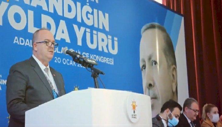 Uğur Sina Şen, yeniden AK Parti Adalar İlçe Başkanı oldu