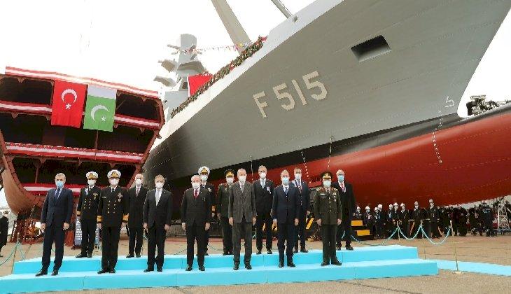 İstanbul Fırkateyni'nin denize iniş töreni gerçekleştirildi