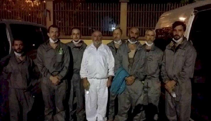 Geçtiğimiz ay Nijerya'da kaçırılan 6 Ukraynalı denizci serbest bırakıldı