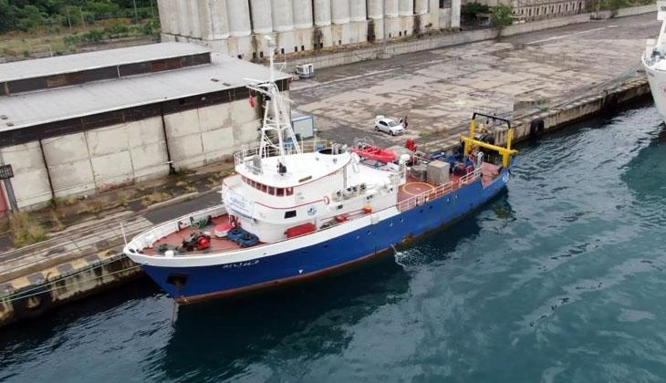 ODTÜ araştırma gemisi Bilim-2, Marmara Denizi'nde çalışmalarını sürdürmeye devam ediyor...