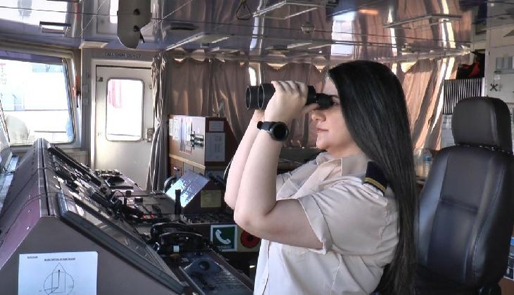Okyanusları aşan Türk kadın kaptan, yaşadığı zorlukları anlattı