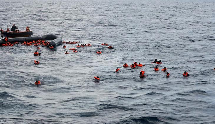 Orta Akdeniz'de lastik bot battı: en az 100 ölü