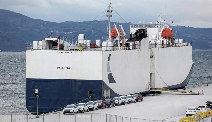 OYAK'ın otomotiv odaklı Ro-Ro limanına ilk deneme seferi yapıldı