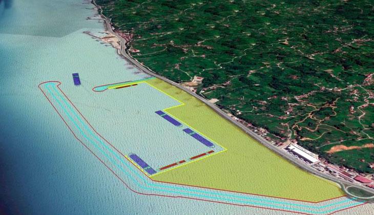 Rize İyidere Lojistik Limanı binlerce kişiye istihdam sağlayacak