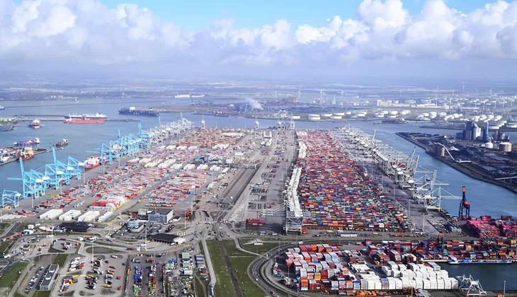 Rotterdam Limanı'nın kapasitesi artırılıyor