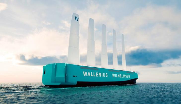 Rüzgar enerjisiyle çalışan Ro-Ro gemisi 2025'te suya inecek