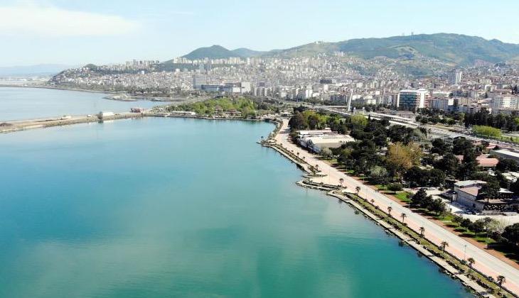 Samsun Limanındaki kirlilik tedirgin etti