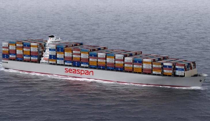Seaspan Corporation, altı adet 15.500 TEU'luk konteyner gemisi siparişi verdi