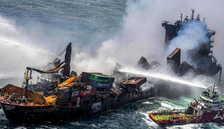 Sri Lanka, günlerdir yanan X-Press Pearl gemisinin şirketine dava açacak