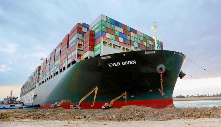 Süveyş Kanalı'ndaki kazanın ardından Japonlar 150 milyon dolar tazminat ödemeyi taahhüt etti