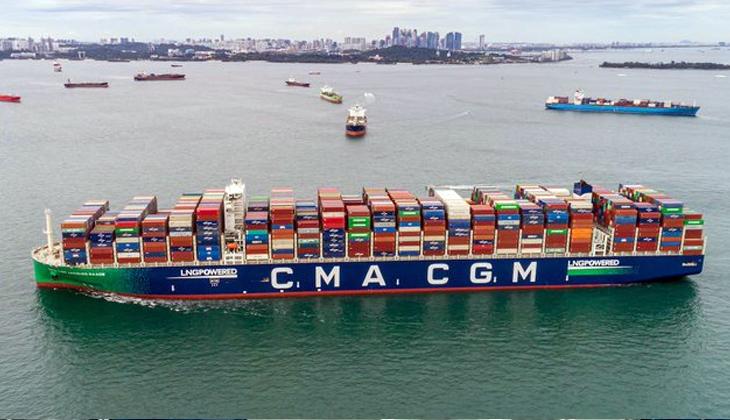 Tek bir gemiyle en yüksek sayıda konteyner taşıma rekoru kırıldı