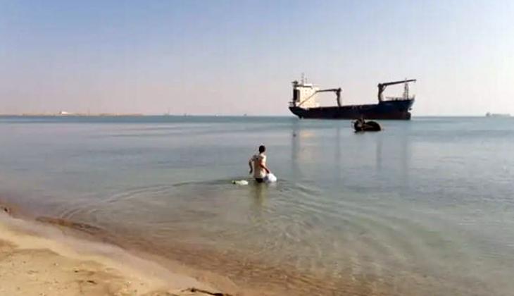 Terk edilmiş gemide mahsur kalan gemici 4 yıl sonra özgürlüğüne kavuştu