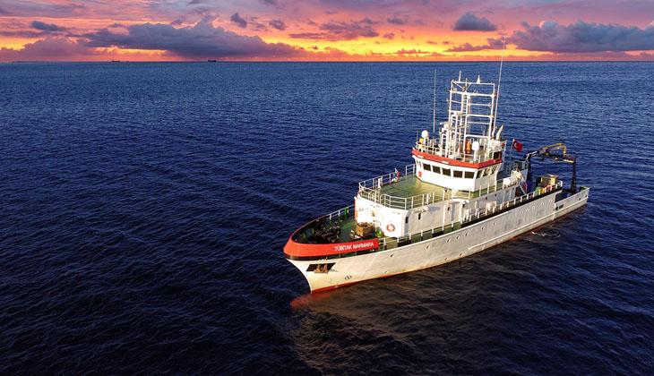 TÜBİTAK Marmara Gemisi, ilk deprem seferini tamamladı