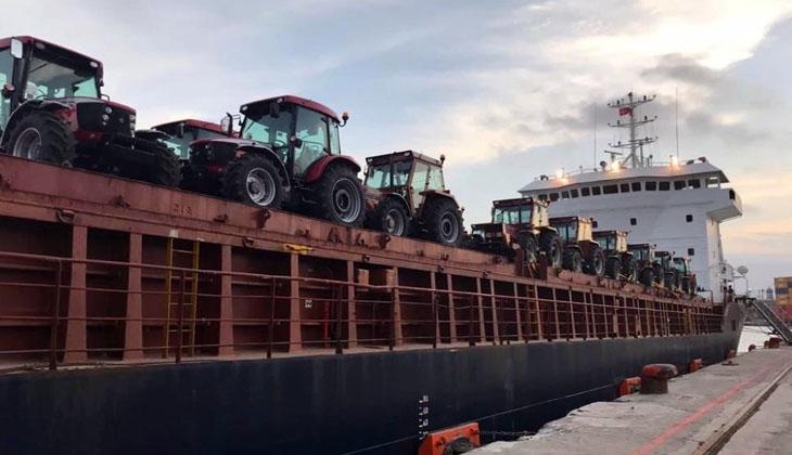 TÜMOSAN'ın traktörleri Gine'deki tarım projesi için yola çıktı