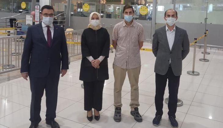 Türk kaptanın bir buçuk yıllık esareti sona erdi! MV Ula gemisinin kaptanı Yusuf Sencer Sotan, ailesine kavuştu