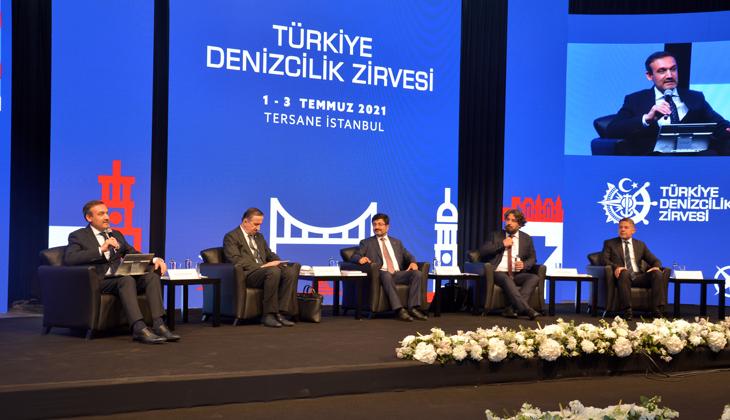 Türkiye Denizcilik Zirvesi'nde 'Kanal İstanbul' başlıklı oturum düzenlendi