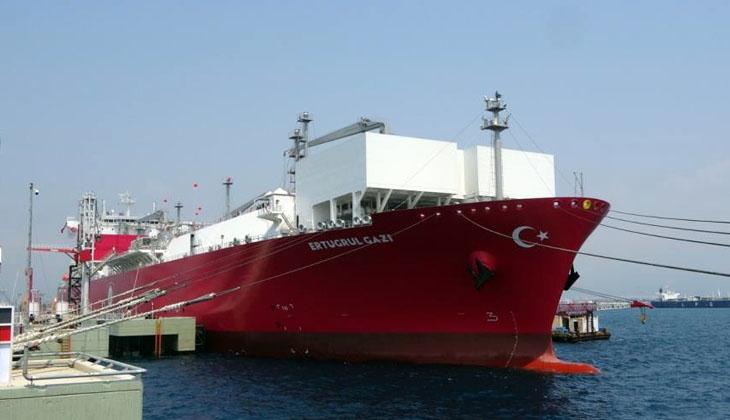 Türkiye'nin ilk FSRU Gemisi Ertuğrul Gazi, bugün faaliyete geçti