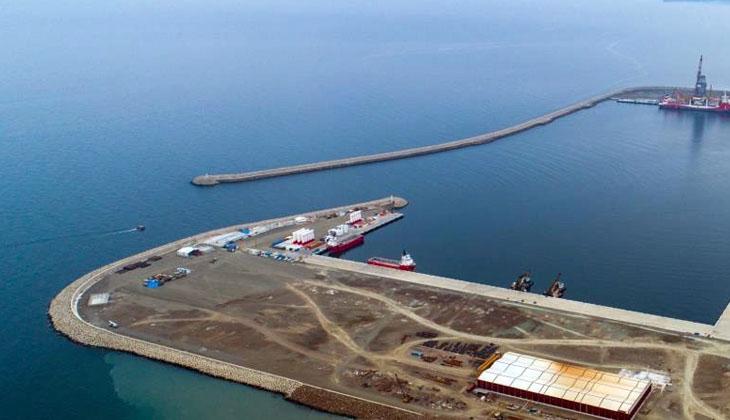Türkiye'nin üçüncü büyük limanı olma özelliği taşıyan Filyos Limanı'nda sona gelindi!