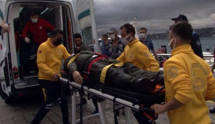 Üsküdar'da denize atladığı esnada bilincini kaybeden vatandaş akıntıya kapıldı